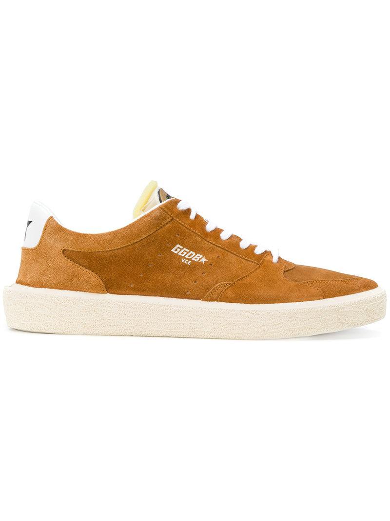 Golden Goose Tennis Sneakers In Brown