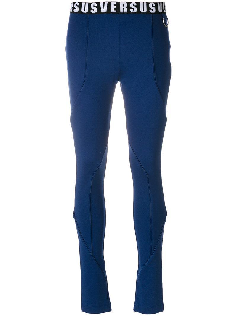 Versus High-waisted Pants