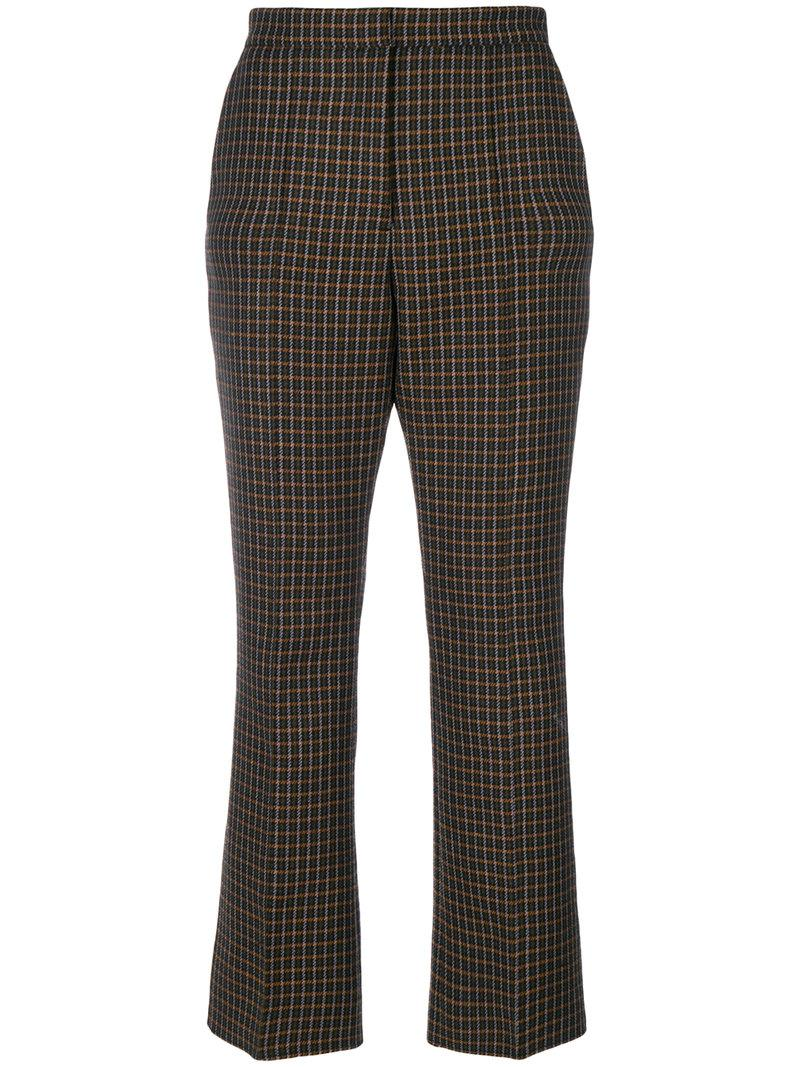 Msgm Tailored Fitted Trousers - Black