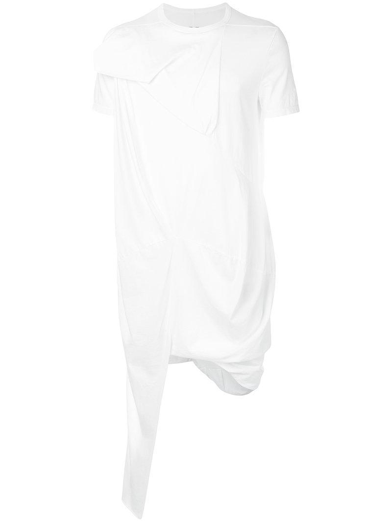 Rick Owens Drkshdw Asymmetrical Long T-shirt