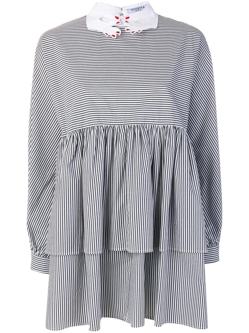 Vivetta Striped Blouse