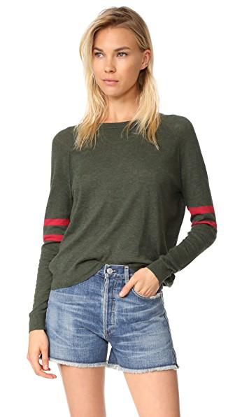 Velvet Theana Sweater In Army