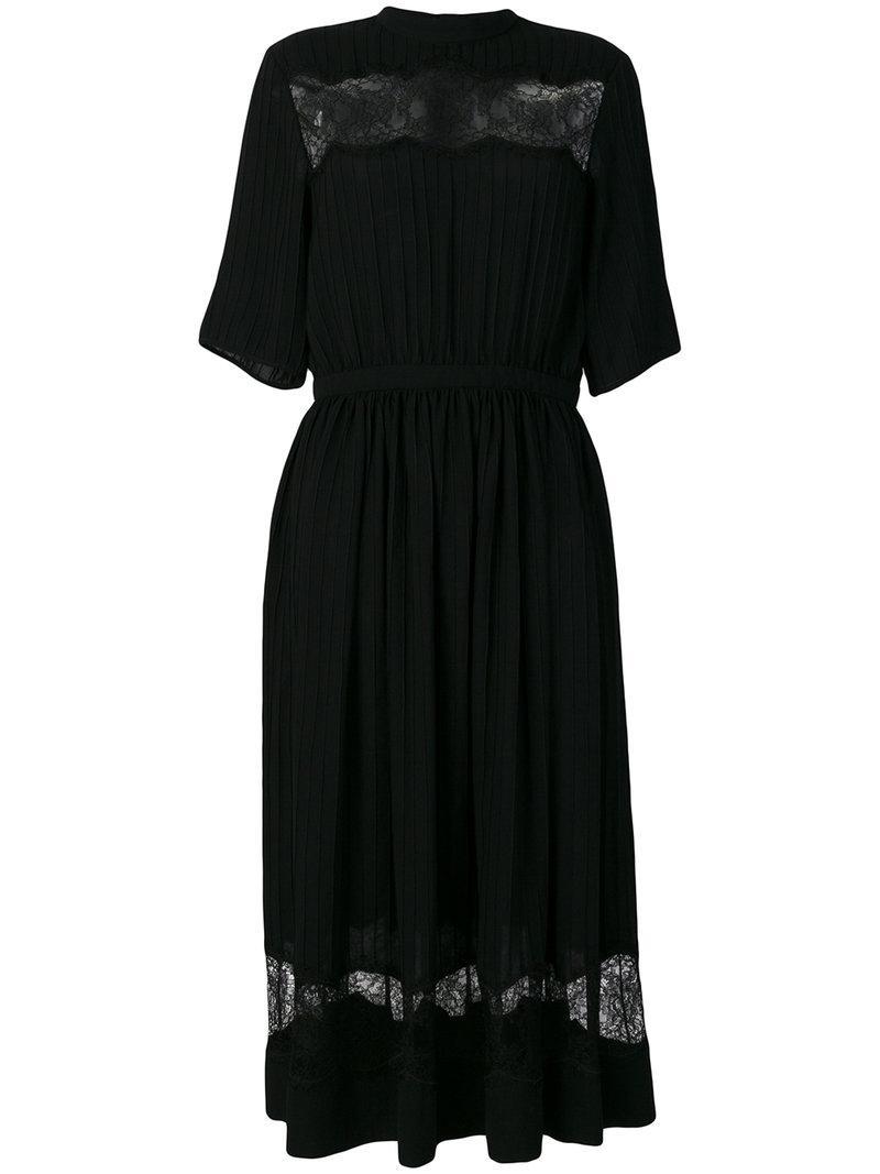 Rochas Lace Inset Dress