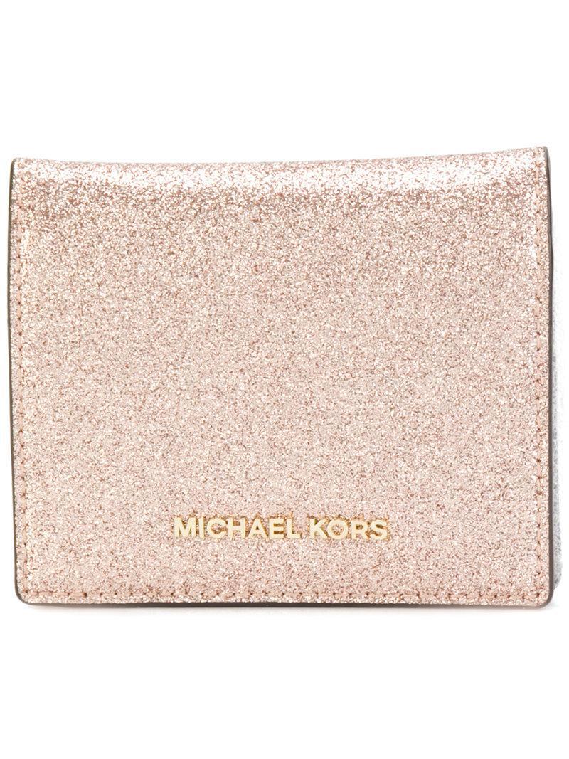 Michael Michael Kors Glitter Effect Cardholder