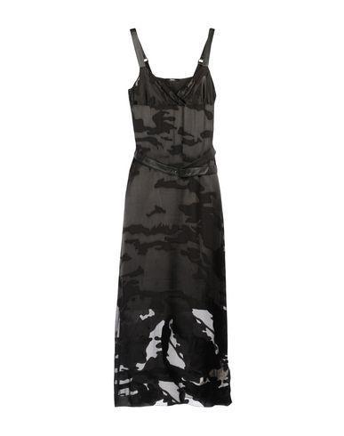 Diesel 3/4 Length Dresses In Black