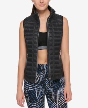 Tommy Hilfiger Sport Puffer Vest, Created For Macy's In Black