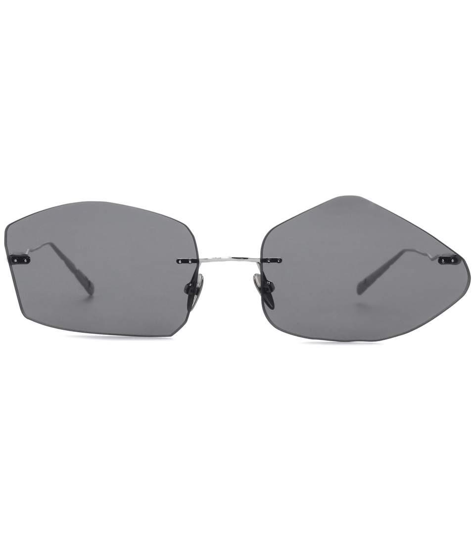 f7a44be2e5 Acne Studios Giel Square-Frame Silver-Tone Sunglasses