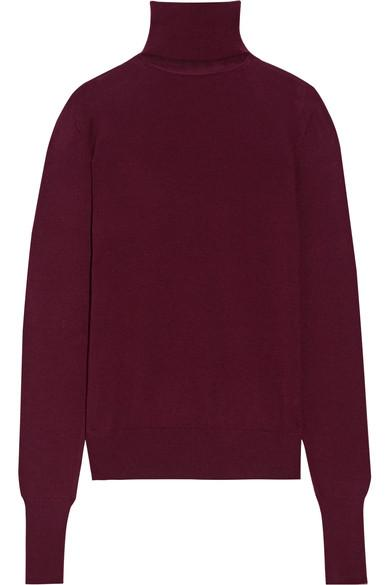 Chalayan Cutout Merino Wool Turtleneck Sweater