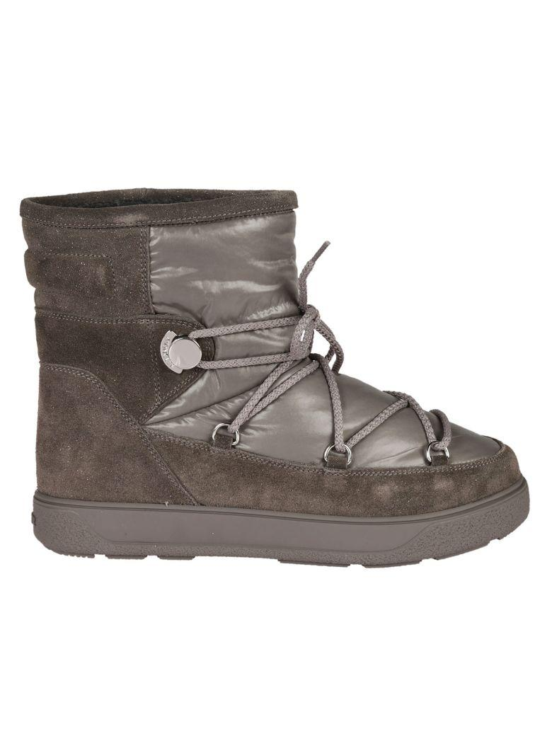 Moncler New Fanny Ankle Boots In Grey