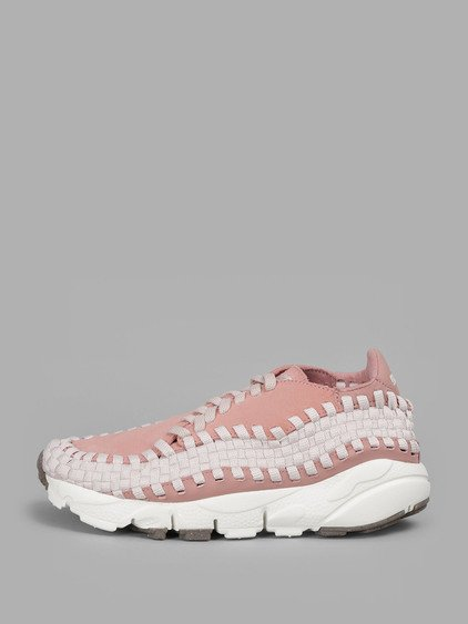 Nike Women's Pink Air Footscape Woven Sneakers