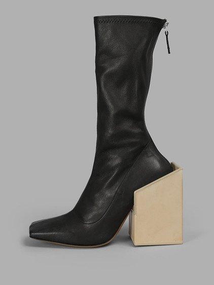 Jacquemus Les Bottes Chaussettes Boots In Black