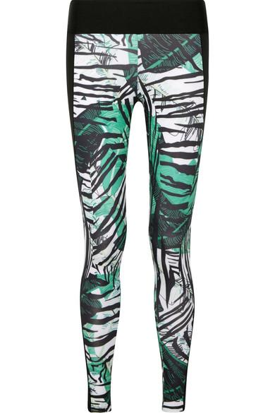 Bodyism I Am Exotic Printed Stretch Leggings