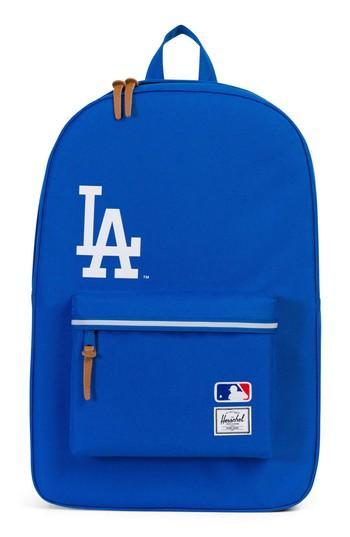 Herschel Supply Co. Heritage Mlb Backpack - Blue In Los Angeles Dodgers