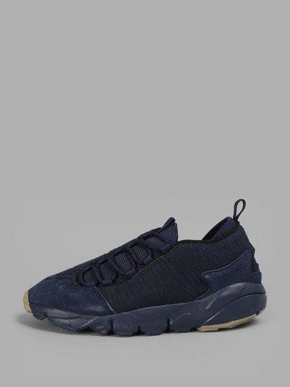 Nike Men's Blue Air Footscape Nm Premium Sneakers