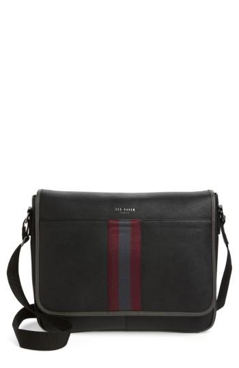Ted Baker Buzard Messenger Bag - Black