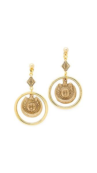 Vanessa Mooney The Eve Earrings In Gold