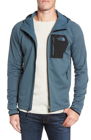 The North Face Borod Zip Fleece Jacket In Conquer Blue