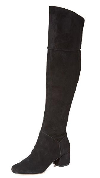 Rebecca Minkoff Shawn Knee High Boots In Black