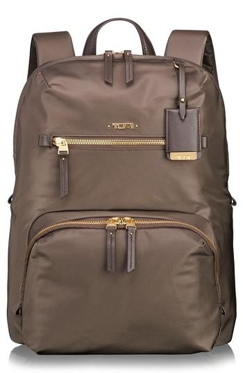 Tumi Voyageur Halle Nylon Backpack - Brown In Mink