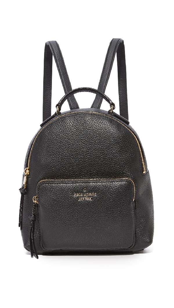 Kate Spade Jackson Street - Keleigh Leather Backpack In Black