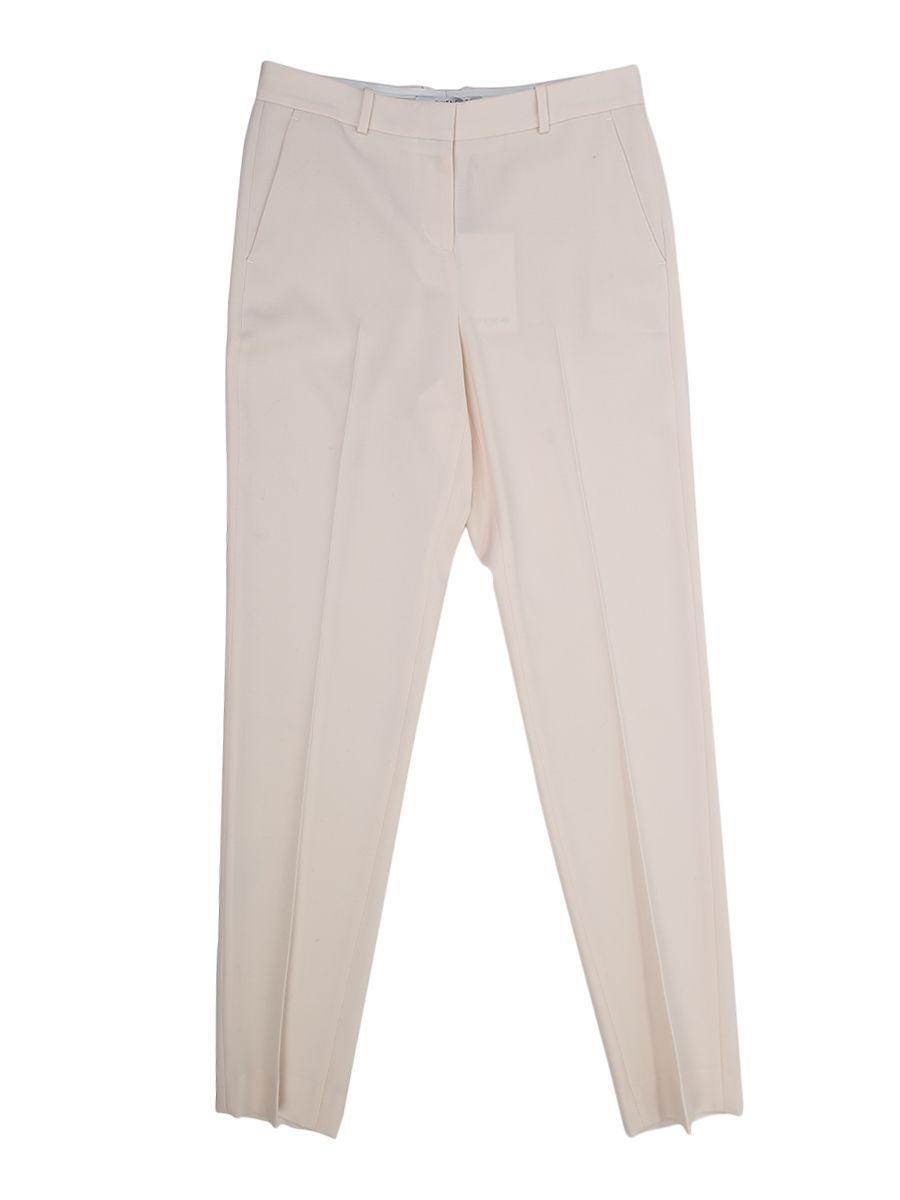Givenchy Wool Trousers In Pink