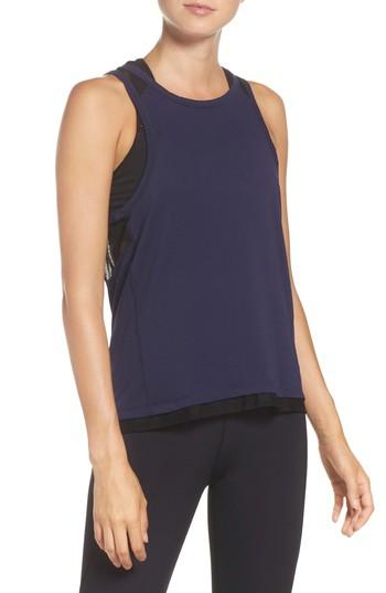 Alala Pace Tank In Navy