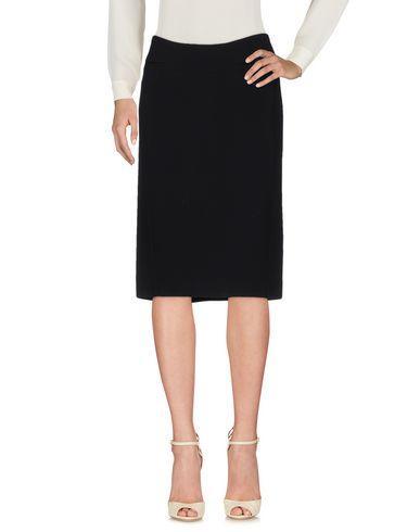 Agnona Knee Length Skirts In Black