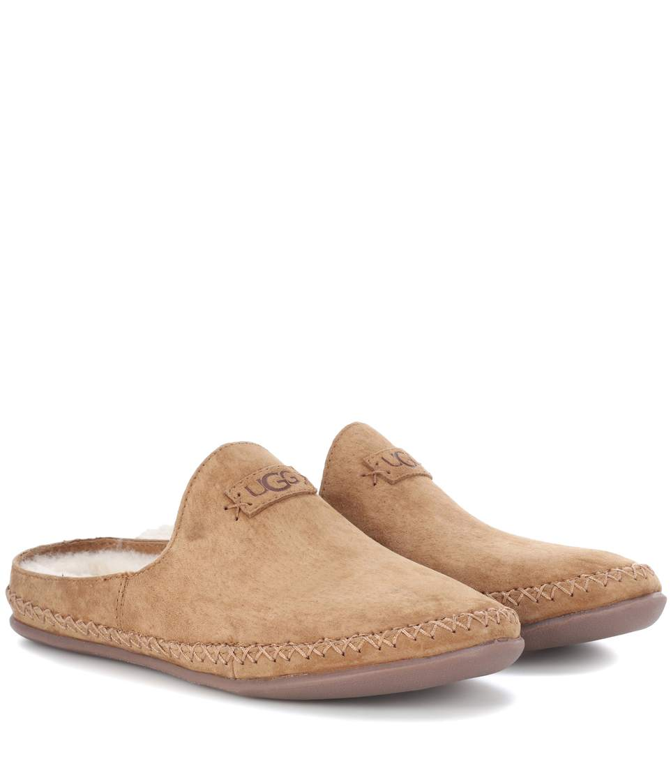 Ugg Tamara Suede Slippers In Che