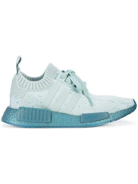 287fe45f7c0b5 Adidas Originals Adidas Nmd R1 Primeknit Sneakers - Farfetch In Green