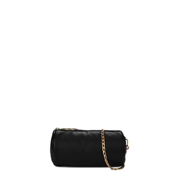 Stella Mccartney Alter Nappa Bubble Mini Bag In Black|nero