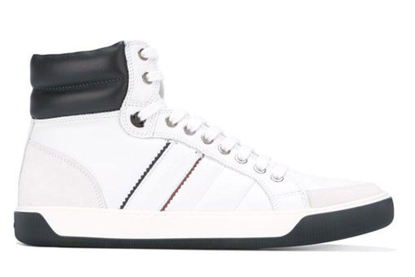 Moncler Sneakers New Lyon In White