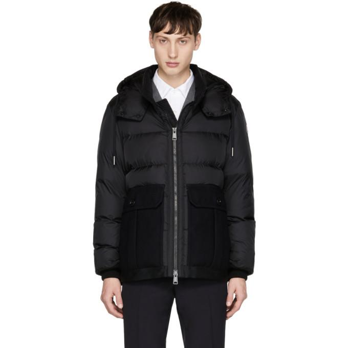 Moncler Black Down Vitoux Jacket