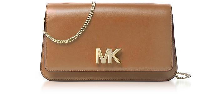 Michael Kors Mott Large Acorn Leather Clutch