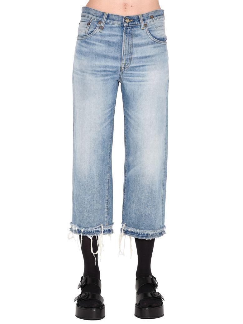 R13 Jeans In Light Blue