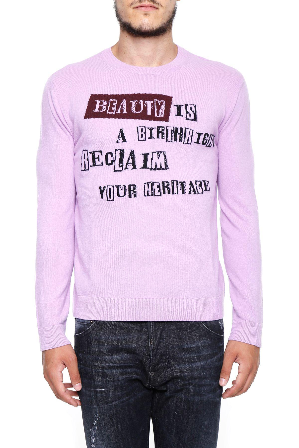 Valentino Jamie Reid Pullover In Pink|rosa