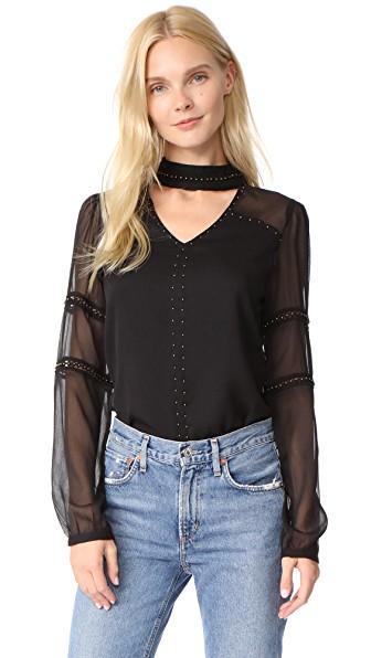 Chloe Oliver Gigi Blouse In Black