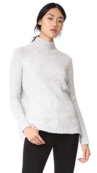 Blank Denim Unmellow Sweater In Light Grey