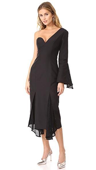 C/meo Collective Aspire Dress In Black