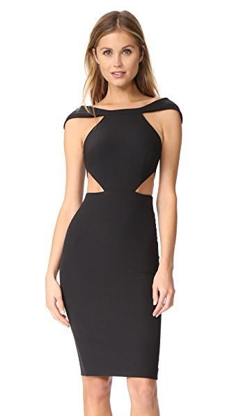 Aq/aq Aura Mini Dress In Black