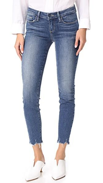 Paige Verdugo Ankle Jeans In Barkley Distressed