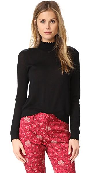 Club Monaco Archibelle Sweater In Black