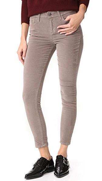Joe's Jeans The Velvet Icon Ankle Skinny Jeans In Rain