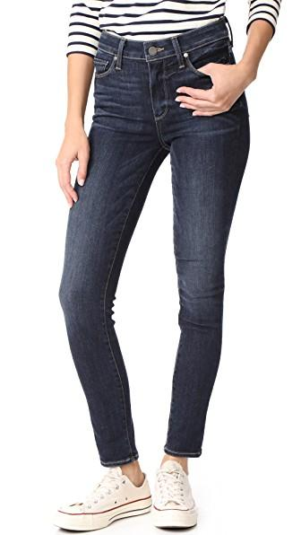 Paige Hoxton Transcend Ankle Jeans In Jerry Girl