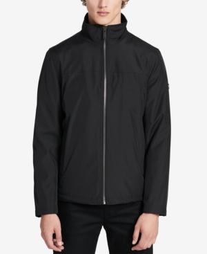 Calvin Klein Men's Big & Tall Waterproof Jacket In Black