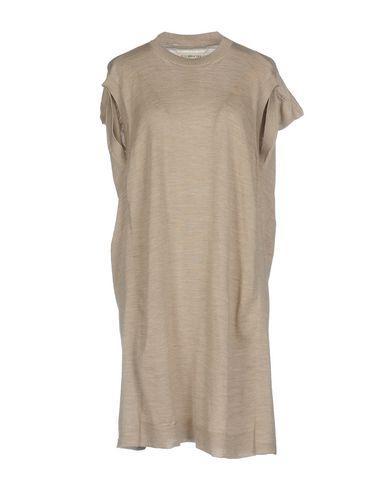Maison Margiela Short Dresses In Sand