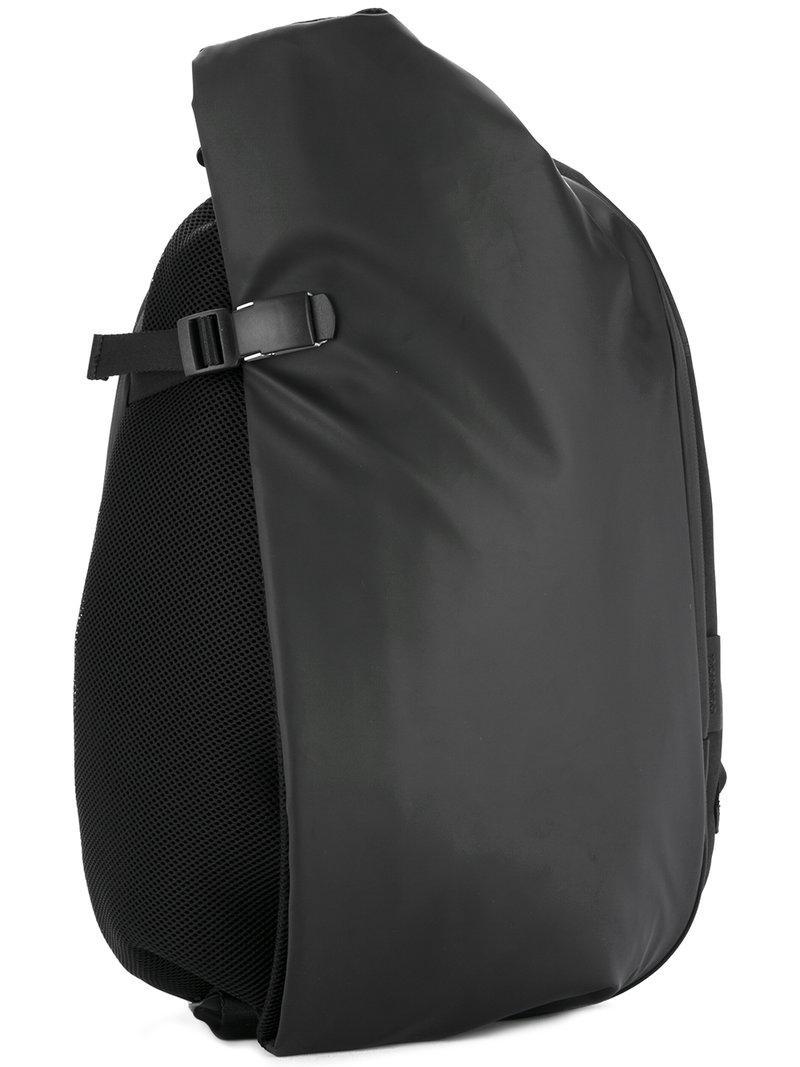 CÔte&ciel Buckled Backpack In Black