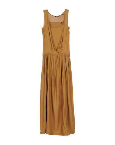 Woolrich Long Dress In Camel