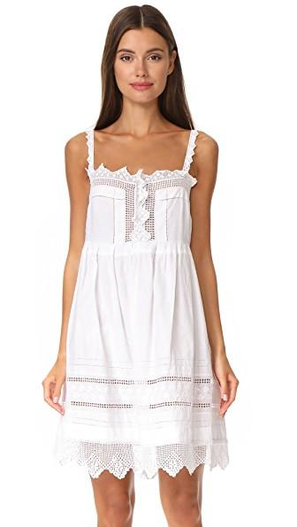 Place Nationale La Madone Mini Dress In White