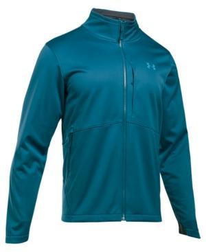 Under Armour Men's Coldgear Infrared Softshell Jacket In Blue