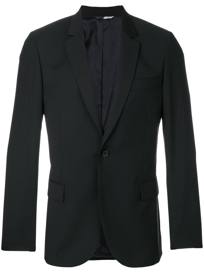 Ps By Paul Smith Scalloped Slim-fit Jacket